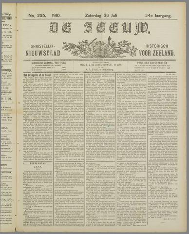 De Zeeuw. Christelijk-historisch nieuwsblad voor Zeeland 1910-07-30