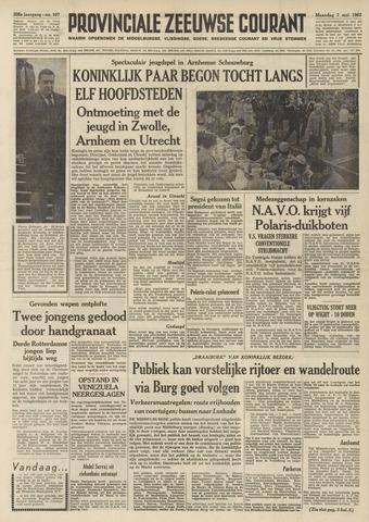 Provinciale Zeeuwse Courant 1962-05-07
