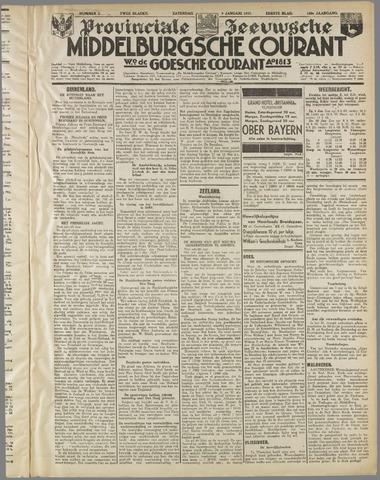 Middelburgsche Courant 1937-01-09