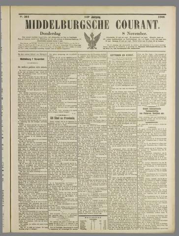 Middelburgsche Courant 1906-11-08