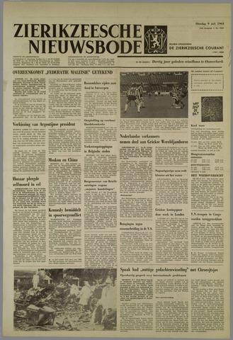 Zierikzeesche Nieuwsbode 1963-07-09