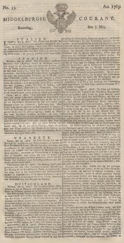 Middelburgsche Courant 1763-05-07