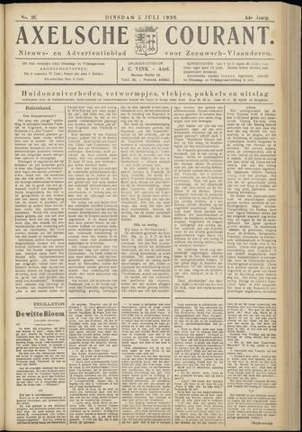 Axelsche Courant 1938-07-05