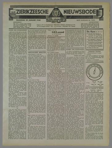 Zierikzeesche Nieuwsbode 1940-01-29