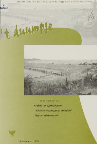 t Duumpje 2003-03-01