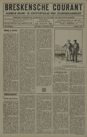 Breskensche Courant 1925-09-30