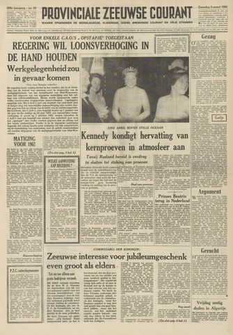 Provinciale Zeeuwse Courant 1962-03-03