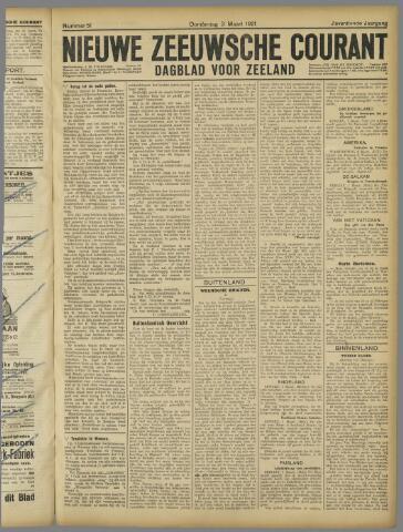 Nieuwe Zeeuwsche Courant 1921-03-03