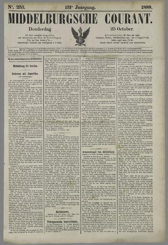 Middelburgsche Courant 1888-10-25