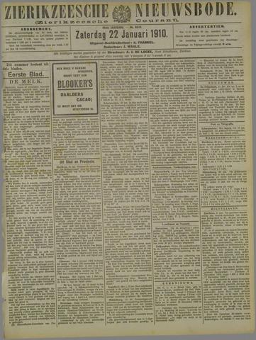Zierikzeesche Nieuwsbode 1910-01-22