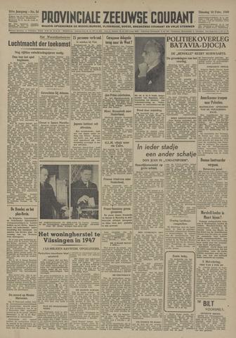 Provinciale Zeeuwse Courant 1948-02-10