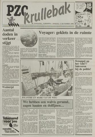 Provinciale Zeeuwse Courant katern Krullenbak (1981-1999) 1989-09-12