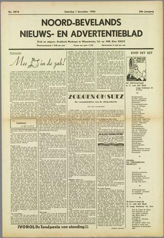 Noord-Bevelands Nieuws- en advertentieblad 1956-12-01