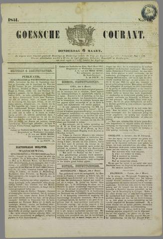 Goessche Courant 1851-03-06