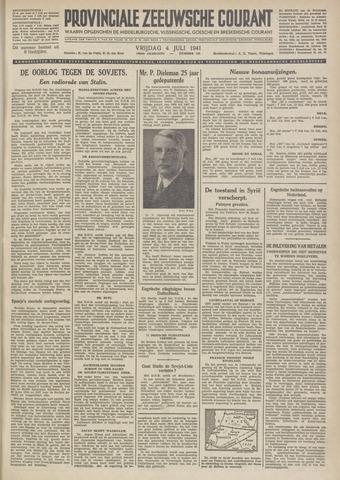 Provinciale Zeeuwse Courant 1941-07-04