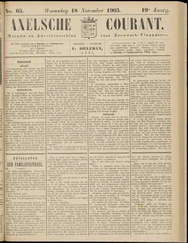 Axelsche Courant 1903-11-18