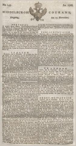 Middelburgsche Courant 1768-11-29