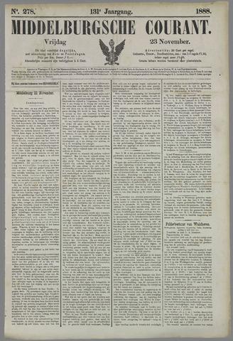 Middelburgsche Courant 1888-11-23