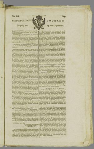 Middelburgsche Courant 1809-08-15