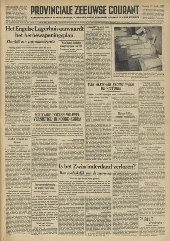 Provinciale Zeeuwse Courant 1950-09-15