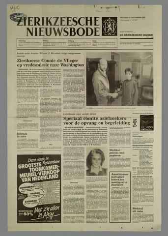 Zierikzeesche Nieuwsbode 1987-11-17