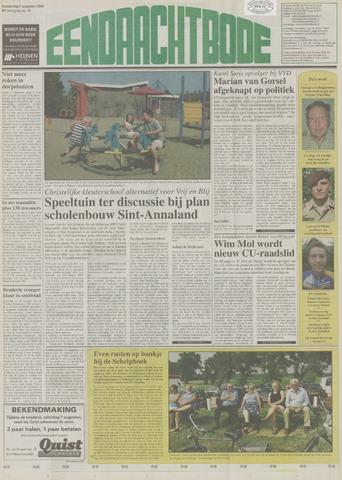 Eendrachtbode (1945-heden)/Mededeelingenblad voor het eiland Tholen (1944/45) 2004-08-05