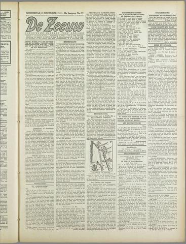 De Zeeuw. Christelijk-historisch nieuwsblad voor Zeeland 1943-12-23
