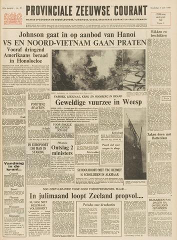 Provinciale Zeeuwse Courant 1968-04-04