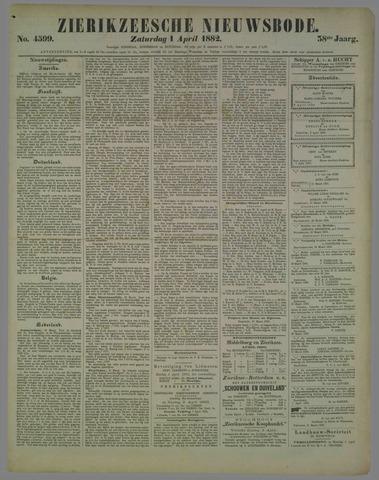 Zierikzeesche Nieuwsbode 1882-04-01
