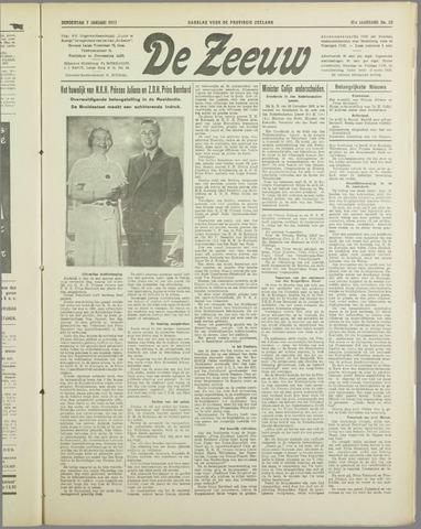 De Zeeuw. Christelijk-historisch nieuwsblad voor Zeeland 1937-01-07