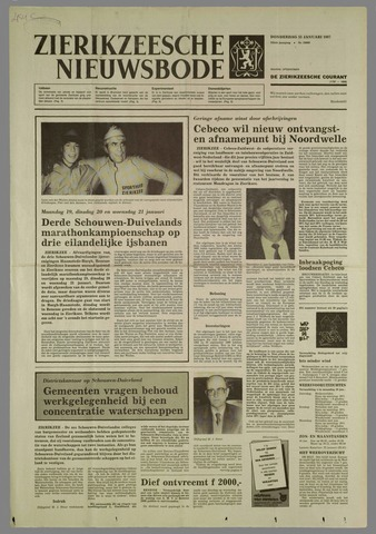 Zierikzeesche Nieuwsbode 1987-01-15