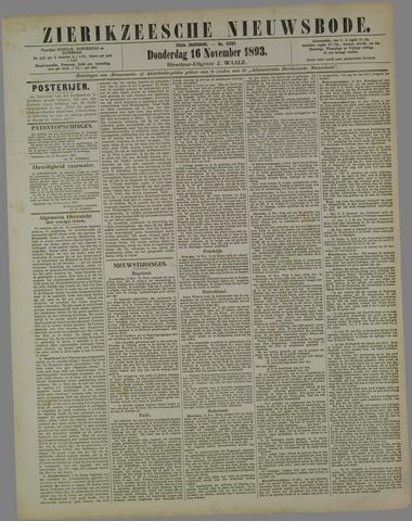 Zierikzeesche Nieuwsbode 1893-11-16