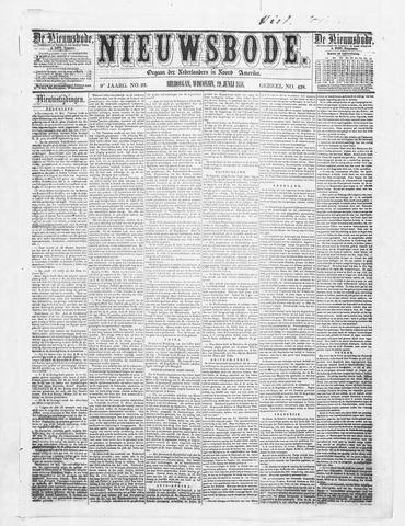Sheboygan Nieuwsbode 1858-06-29