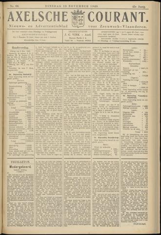 Axelsche Courant 1929-11-19