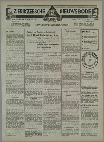 Zierikzeesche Nieuwsbode 1937-08-11