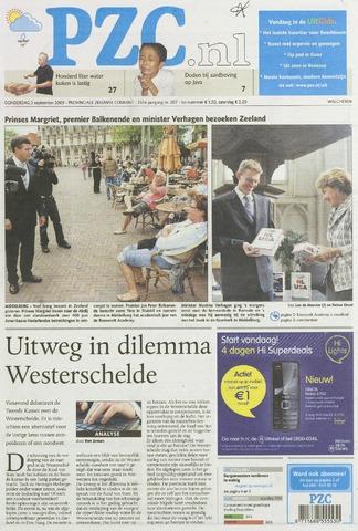 Provinciale Zeeuwse Courant 2009-09-03