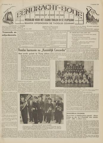 Eendrachtbode (1945-heden)/Mededeelingenblad voor het eiland Tholen (1944/45) 1959-09-18