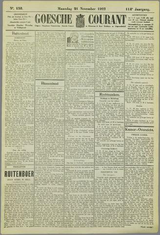 Goessche Courant 1927-11-21
