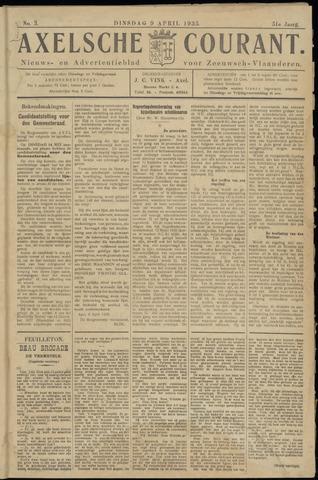 Axelsche Courant 1935-04-09