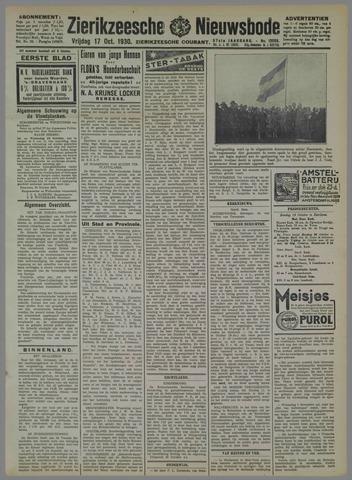 Zierikzeesche Nieuwsbode 1930-10-17