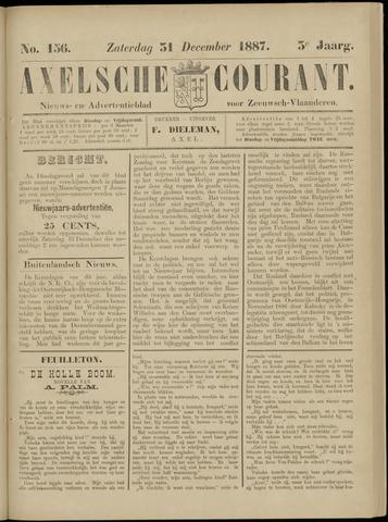 Axelsche Courant 1887-12-31