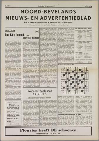 Noord-Bevelands Nieuws- en advertentieblad 1974-08-22