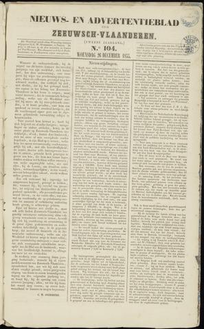 Ter Neuzensche Courant. Algemeen Nieuws- en Advertentieblad voor Zeeuwsch-Vlaanderen / Neuzensche Courant ... (idem) / (Algemeen) nieuws en advertentieblad voor Zeeuwsch-Vlaanderen 1855-12-26