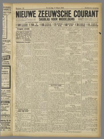 Nieuwe Zeeuwsche Courant 1922-03-16
