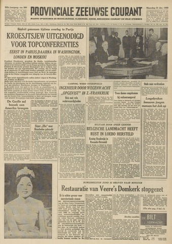 Provinciale Zeeuwse Courant 1959-12-21