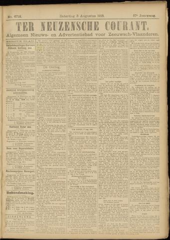Ter Neuzensche Courant. Algemeen Nieuws- en Advertentieblad voor Zeeuwsch-Vlaanderen / Neuzensche Courant ... (idem) / (Algemeen) nieuws en advertentieblad voor Zeeuwsch-Vlaanderen 1918-08-03