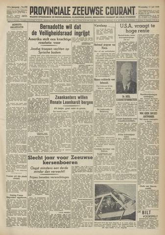 Provinciale Zeeuwse Courant 1948-07-14