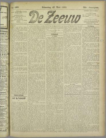 De Zeeuw. Christelijk-historisch nieuwsblad voor Zeeland 1921-05-17