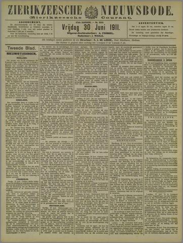 Zierikzeesche Nieuwsbode 1911-06-30