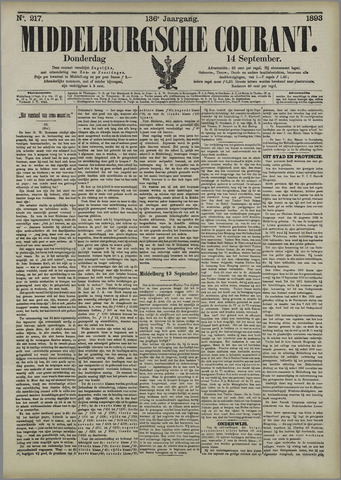 Middelburgsche Courant 1893-09-14